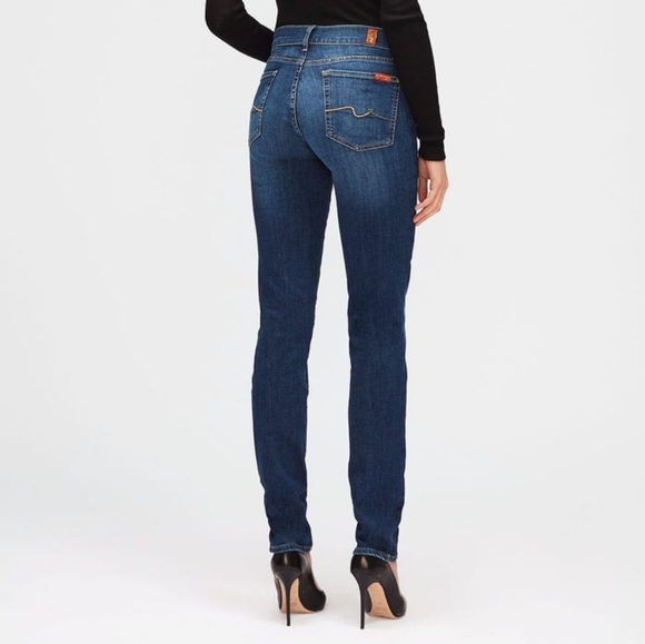 7 For All Mankind Roxanne Slim Jeans Sz 26